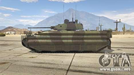 GTA 5 FV510 Warrior vista lateral izquierda