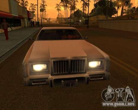 Vehículo Nuevo.txd v2 para GTA San Andreas séptima pantalla