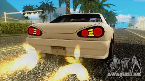 Elegy HellCat para la visión correcta GTA San Andreas