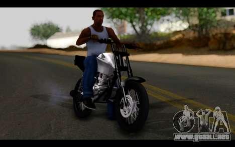 Honda CG Titan 150 Stunt Imitacion para visión interna GTA San Andreas