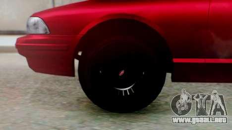 GTA 5 Vapid Stanier II para GTA San Andreas vista posterior izquierda