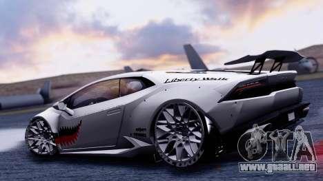 Lamborghini Huracan 2013 Liberty Walk [SHARK] para la visión correcta GTA San Andreas