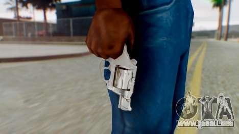 Charter Arms Undercover Revolver para GTA San Andreas tercera pantalla