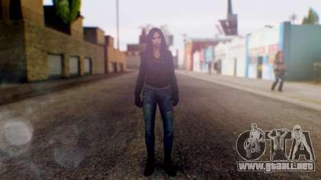 Jessica Jones para GTA San Andreas segunda pantalla