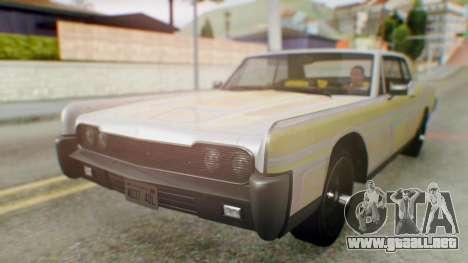 GTA 5 Vapid Chino Tunable IVF para la vista superior GTA San Andreas