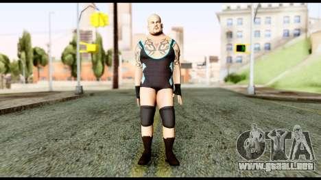 WWE Tensai para GTA San Andreas segunda pantalla