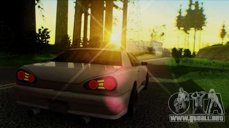 Elegy HellCat para GTA San Andreas left