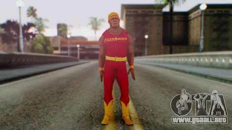 WWE Hulk Hogan para GTA San Andreas segunda pantalla