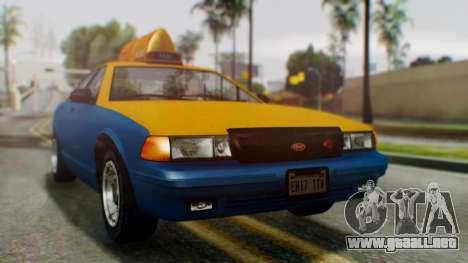 Vapid Taxi para GTA San Andreas