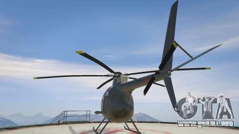 GTA 5 Hughes OH-6 Cayuse tercera captura de pantalla