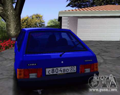 2109 KBR para visión interna GTA San Andreas