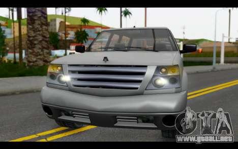 GTA 5 Albany Cavalcade IVF para visión interna GTA San Andreas