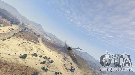 GTA 5 Northrop F-5E Tiger II FAB octavo captura de pantalla