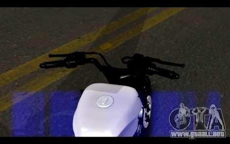 Honda CG Titan 150 Stunt Imitacion para GTA San Andreas vista posterior izquierda