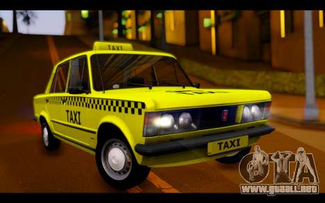 Zastava 125PZ Taxi para GTA San Andreas