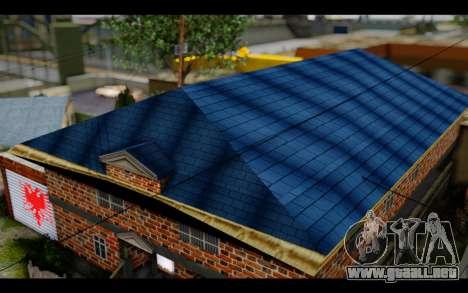 New CJ House para GTA San Andreas tercera pantalla