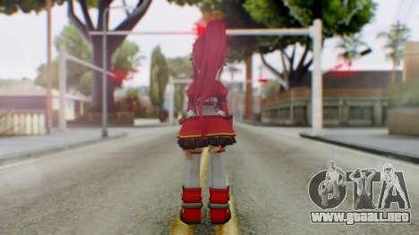 Elsword Online - Elises para GTA San Andreas tercera pantalla