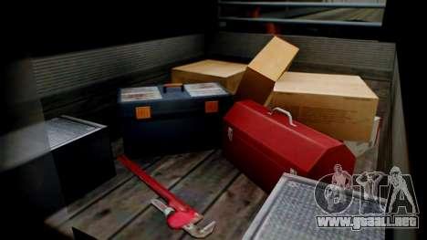GTA 5 Brute Pony Smoke on the Water para la visión correcta GTA San Andreas