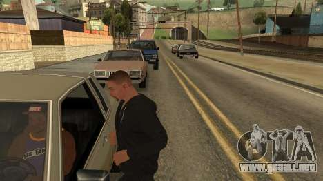 Crush Car para GTA San Andreas segunda pantalla