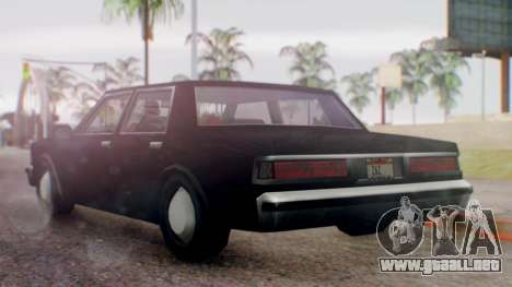 Unmarked Police Cutscene Car Normal para GTA San Andreas left