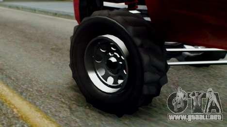 GTA 5 Vapid Sandking SWB IVF para GTA San Andreas vista posterior izquierda