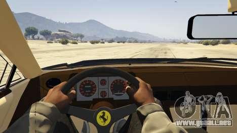 GTA 5 1984 Ferrari Testarossa 1.9 vista lateral trasera derecha