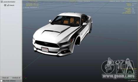 Ford Mustang GT 2015 v1.1 para GTA 5