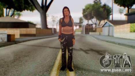 WWE Lita para GTA San Andreas segunda pantalla