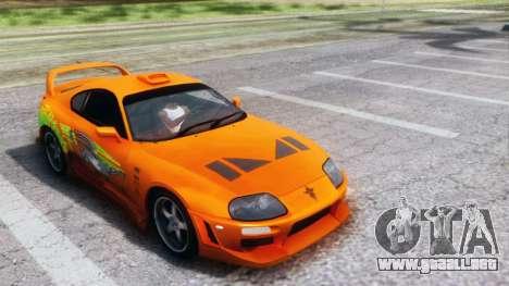Toyota Supra TRD 1998 para GTA San Andreas