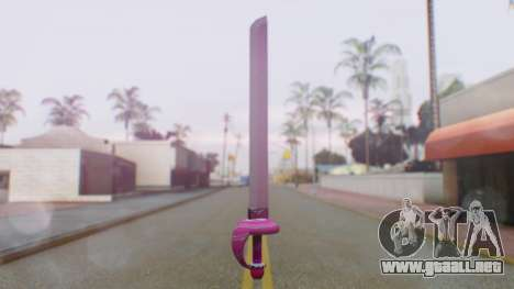 Rose Sword from Steven Universe para GTA San Andreas