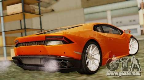 Lamborghini Huracan LP610-4 2015 para GTA San Andreas left