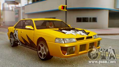 El sultán Винил из need For Speed ProStreet para la visión correcta GTA San Andreas