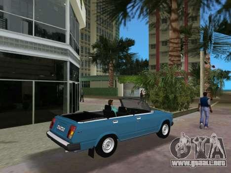 VAZ 21047 Convertible para GTA Vice City visión correcta