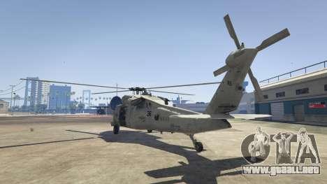 GTA 5 MH-60S Knighthawk tercera captura de pantalla