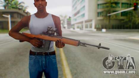 Arma2 M14 Sniper para GTA San Andreas tercera pantalla