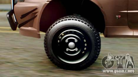 Nissan Skyline GT-R R34 RAID Spec para GTA San Andreas vista posterior izquierda