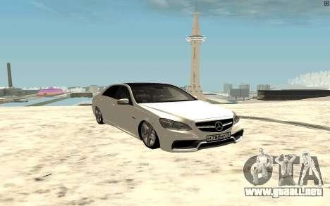 Mercedes-Benz E63 AMG para GTA San Andreas