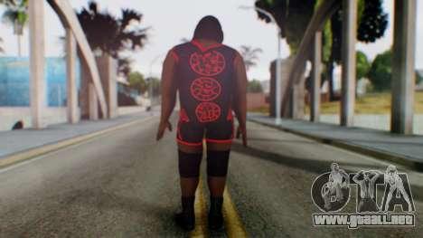 Mark He WWE para GTA San Andreas tercera pantalla