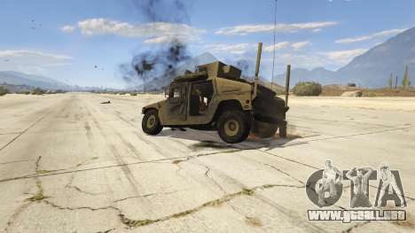 GTA 5 M1116 Humvee Up-Armored 1.1 volante