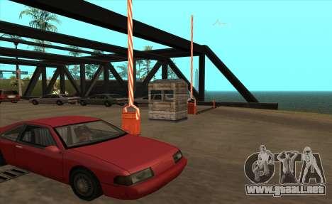 Personalizado para GTA San Andreas tercera pantalla