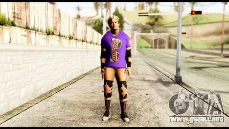 Zack Ryder 2 para GTA San Andreas segunda pantalla