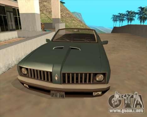 Vehículo Nuevo.txd v2 para GTA San Andreas