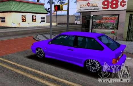VAZ 2113 KBR para GTA San Andreas left