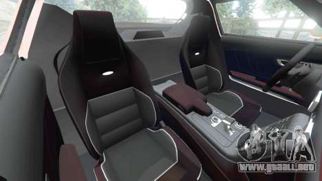 GTA 5 Mercedes-Benz SLS AMG GT3 vista lateral derecha