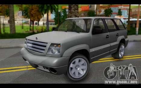 GTA 5 Albany Cavalcade IVF para GTA San Andreas