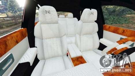 GTA 5 Rolls Royce Ghost 2014 v1.2 vista lateral derecha