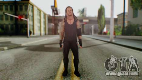 The Undertaker para GTA San Andreas segunda pantalla