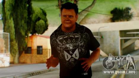 WWE Jerry Lawler para GTA San Andreas