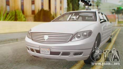 GTA 5 Benefactor Stretch E Turreted IVF para GTA San Andreas