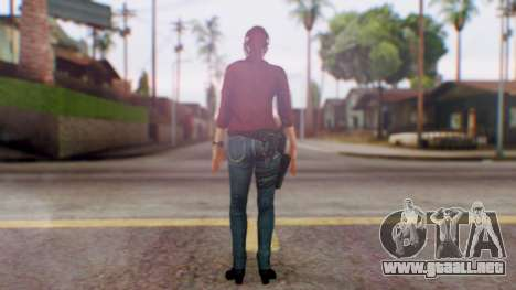 Jessica Jones Friend 1 para GTA San Andreas tercera pantalla